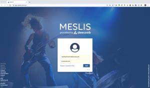MESLIS Startpage